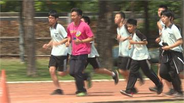 雲林師帶學生跑步 七十幾天不間斷