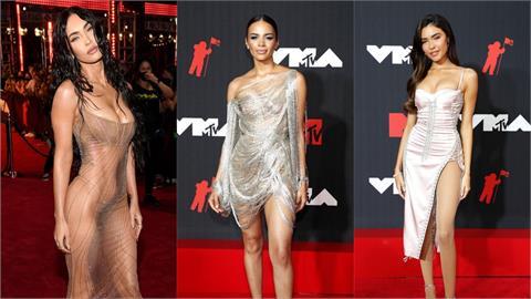 VMA紅毯女星爭豔比性感!梅根福克斯「透視裝」火辣尺度破表