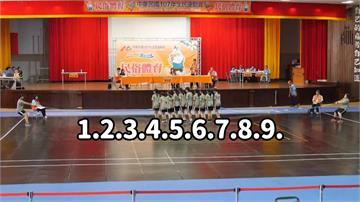 大寮國中女子跳繩隊 成軍半年奪全運會金牌