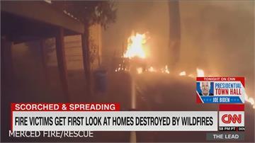 奧勒岡、華盛頓州燒掉「半個台灣」  加州27處火場釀26死持續攀升