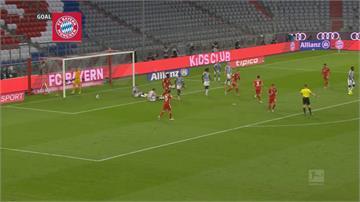 萊萬多夫斯基上演大四喜助拜仁4:3險勝柏林赫塔