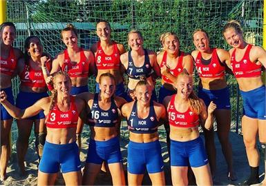 挪威手球選手拒穿比基尼泳褲挨罰 紅粉佳人力挺