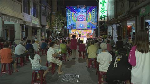 鎮東里中秋活動 進場刷QRcode 保持1.5公尺