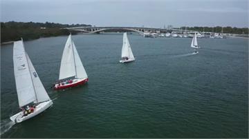推廣海洋休憩 台灣本島首辦重帆公開賽