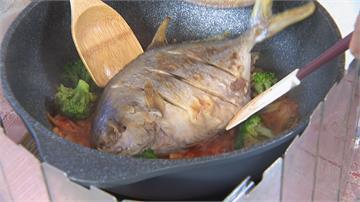 野生每公斤飆2800元 2尾白鯧魚要價近萬元!