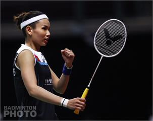 泰國公開賽/戴資穎擊敗丹麥選手搶下決賽門票 明與馬琳爭冠