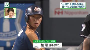 王柏融成為「火腿大王」! 3年合約、首年薪資9千萬日圓