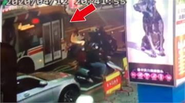 女騎士「停等區」內遭輾斃  公車司機稱視線死角