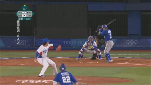 棒球衛冕軍韓國亮相 再見觸身球險勝以色列