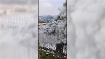廣東建築大火3物業員工喪命 當局駁非華為基地