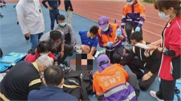 台南員警跑步訓練突昏厥一度無意識 CPR急救恢復心跳