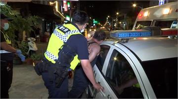 員警處理家庭糾紛案 遭男子辱罵毆打