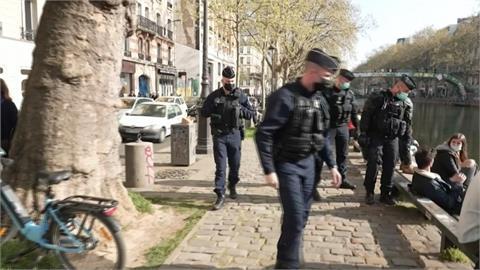 抗議義大利防疫政策 餐廳業者示威爆警民衝突