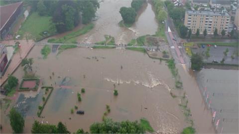 德國、比利時陷百年水患 全歐至少68人不幸罹難