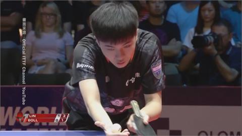 桌球男單林昀儒挺進四強 追平台灣奧運男單最佳成績