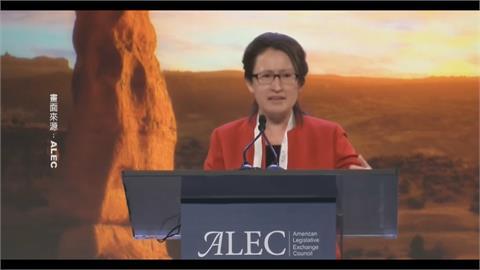 出席ALEC替台發聲 蕭美琴:中國憤怒門檻很低