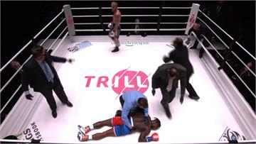 拳擊/前NBA灌籃王被網紅KO 慘遭擊倒暈在地上