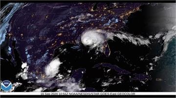 颶風「莎莉」登陸阿拉巴馬州 墨灣沿岸狂風暴雨