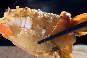 奶油螃蟹襯托海味 螃蟹粥暖心又暖胃
