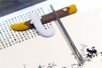 古代兵器變餐具?刀劍環保筷一年熱銷6000雙