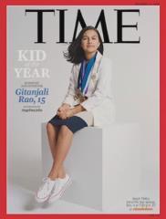 15歲印度裔少女科學家 榮獲時代雜誌年度風雲兒童