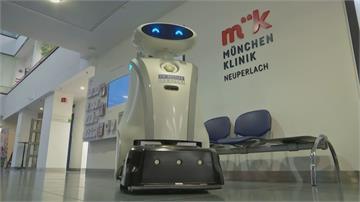 助攻防疫兼解憂 德國機器人能打掃還會唱歌