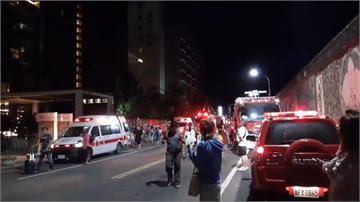 台東四星飯店深夜火警 緊急疏散492名旅客