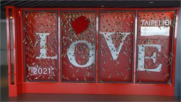 迎接愛情商機!  百貨打造「無敵打卡點」搶客