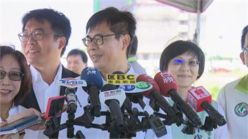 快新聞/高市長補選藍白打黨主席牌 陳其邁:我勤跑基層上山下海