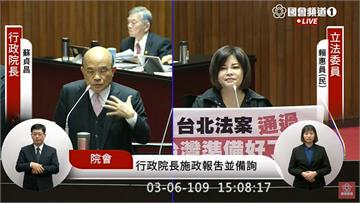 快新聞/「藉由防疫能力讓世界看見台灣」 蘇貞昌:自己有實力才能在世界占有一席之地