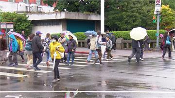 宜蘭小心豪雨!北北基防大雨.14縣市陸上強風特報