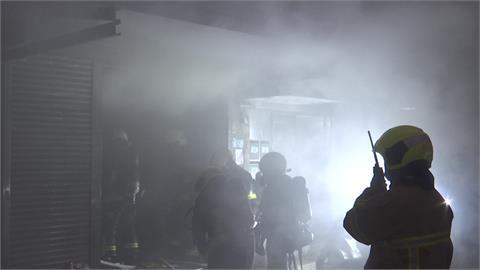 整間普洱茶磚燒光!萬華茶餅倉庫大火損失難估