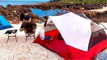 海邊露營、採集生物帶回家...墾丁連假頻傳遊客破壞生態