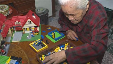 比孫子還愛玩!92歲積木迷阿嬤想蓋三合院
