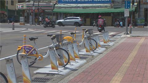 單車站多設人行道上 借還恐遭撞!交通局做滾動式檢討