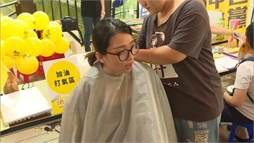 東奧台灣正名公投衝人氣 連署還能免費剪髮!