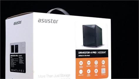 ASUSTOR 入門 2.5GbE NAS,AS3304T 4bay 居家辦公儲存優選