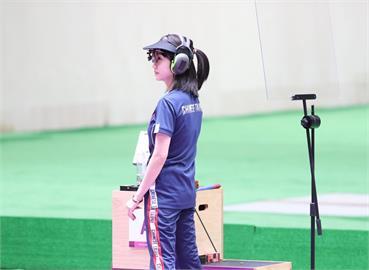 東奧/25公尺火藥手槍第5名創台灣紀錄 「證件妹」吳佳穎相約:2024巴黎奧運見