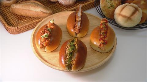 日本特有麵包充滿醬香!  炸蝦、炒麵麵包搬上台灣餐桌