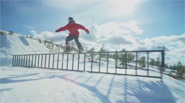 花式高山滑雪 遊戲闖關玩出新創意