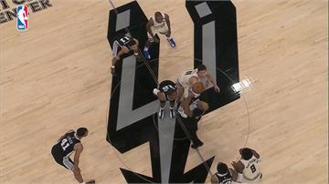 NBA/馬刺猛砍19記3分球 龍頭公鹿中止5連勝