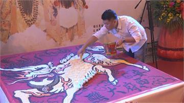 傳統結合創新 雲林廟宇5萬公斤「米龍」超吸睛