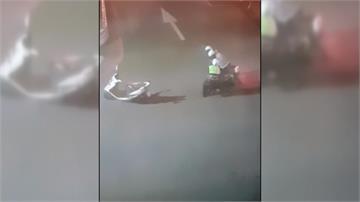 騎士拒攔查企圖襲警 出示精障手冊竟獲釋