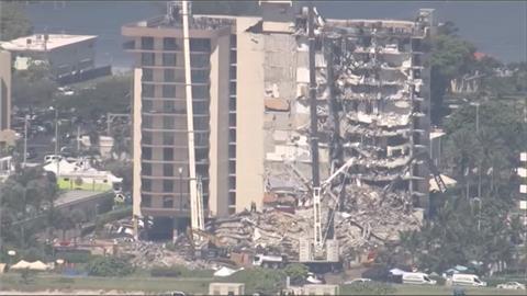 持續搜救!邁阿密大樓崩塌 增至9死152人失聯