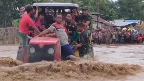 印尼、東帝汶水患慘 上百人喪生數千人撤離