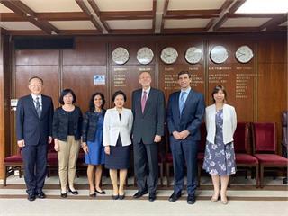 快新聞/台美高官視訊會議「談深化台灣國際參與議題」 外交部感謝美方堅定支持