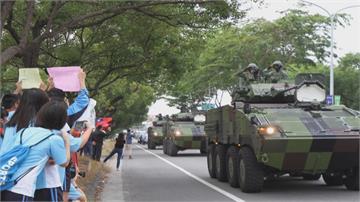 最安心的引擎聲!戰備周操演 國防戰力轟隆上街頭