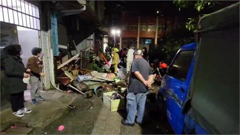 快新聞/基隆平一路民宅瓦斯氣爆「屋內物品炸到屋外」 2人燒燙傷送醫