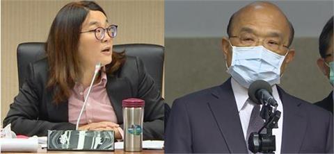 快新聞/陳玉珍突襲設疫苗調閱小組 蘇貞昌:別害台灣買不到疫苗