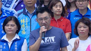 快新聞/國民黨啟動公投連署「拒絕瘦肉精豬」 江啟臣:民進黨不尊重人民權利